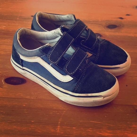 kids vans shoes size 13